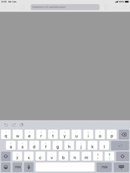 Apple ipad-air-met-ios-12-model-a1475 - Internet - Hoe te internetten - Stap 3
