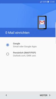 Samsung Galaxy S6 edge+ - E-Mail - Konto einrichten (gmail) - 9 / 19
