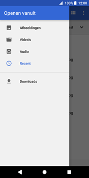 Sony Xperia XZ2 - E-mail - E-mails verzenden - Stap 11