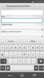 Sony D5803 Xperia Z3 Compact - E-Mail - Konto einrichten - Schritt 10
