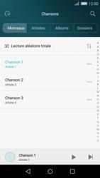 Huawei P8 Lite - Photos, vidéos, musique - Ecouter de la musique - Étape 5