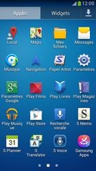 Samsung Galaxy S 4 LTE - Applications - Comment vérifier les mises à jour des applications - Étape 3