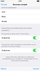 Apple iPhone 6 - Applications - Créer un compte - Étape 18