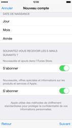 Apple iPhone 6 - Applications - Créer un compte - Étape 18