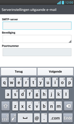 LG E975 Optimus G - E-mail - e-mail instellen: IMAP (aanbevolen) - Stap 14