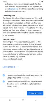 Samsung Galaxy A70 - Applications - Create an account - Step 15