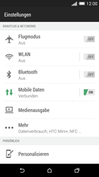 HTC One M8 - WiFi - WiFi-Konfiguration - Schritt 4