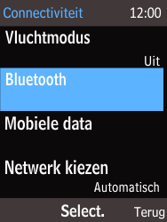 Nokia 220 - Bluetooth - Aanzetten - Stap 4