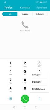 Huawei Honor Play - Anrufe - Rufumleitungen setzen und löschen - 4 / 9