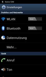 Samsung Galaxy S II - Internet und Datenroaming - Manuelle Konfiguration - Schritt 4