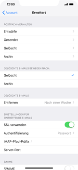 Apple iPhone XR - E-Mail - Konto einrichten - 24 / 30