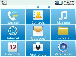 Samsung C3500 Chat 350 - Messagerie vocale - configuration manuelle - Étape 4