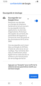 Samsung Galaxy S9 Android Pie - Applications - Créer un compte - Étape 19