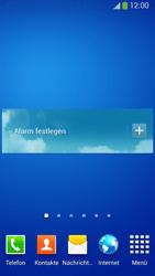 Samsung Galaxy S 4 Active - Startanleitung - Installieren von Widgets und Apps auf der Startseite - Schritt 9