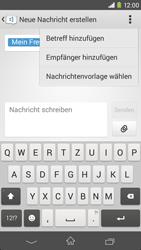 Sony Xperia M2 - MMS - Erstellen und senden - 0 / 0