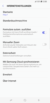 Samsung Galaxy S8 Plus - Internet - Manuelle Konfiguration - 26 / 39