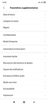 Xiaomi Mi Mix 3 5G - Prise en main - Comment ajouter une langue de clavier - Étape 4
