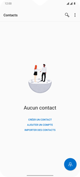 OnePlus 7T - Contact, Appels, SMS/MMS - Ajouter un contact - Étape 8