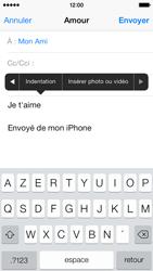 Apple iPhone 5c - E-mails - Envoyer un e-mail - Étape 10