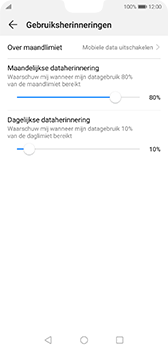 Huawei P20 - Android Pie - internet - mobiele data managen - stap 13