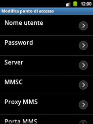 Samsung Galaxy Y - Internet e roaming dati - Configurazione manuale - Fase 11