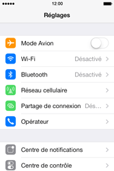 Apple iPhone 4S iOS 7 - MMS - Configuration manuelle - Étape 4