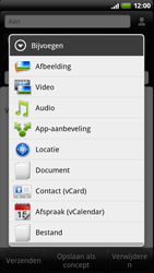 HTC Z715e Sensation XE - E-mail - Hoe te versturen - Stap 9
