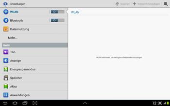 Samsung Galaxy Tab 2 10.1 - Internet und Datenroaming - Deaktivieren von Datenroaming - Schritt 4