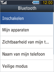 Samsung B3410 Star Qwerty - bluetooth - aanzetten - stap 5
