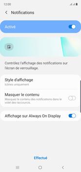 Samsung Galaxy Note 10 - Sécuriser votre mobile - Activer le code de verrouillage - Étape 11
