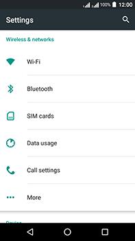 Acer Liquid Zest 4G Plus DualSim - Internet - Disable mobile data - Step 4