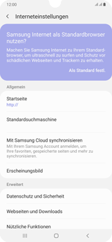 Samsung Galaxy A50 - Internet und Datenroaming - Manuelle Konfiguration - Schritt 27