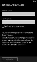 Nokia Lumia 925 - E-mail - Configurer l