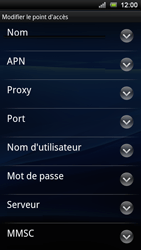 Sony Ericsson Xperia Ray - MMS - configuration manuelle - Étape 9
