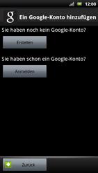 Sony Ericsson Xperia X10 - Apps - Konto anlegen und einrichten - Schritt 5
