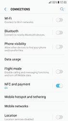 Samsung G930 Galaxy S7 - Android Nougat - Network - Change networkmode - Step 6
