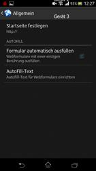 Sony Xperia V - Internet und Datenroaming - Manuelle Konfiguration - Schritt 22