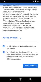 Sony Xperia XZ2 - Android Pie - Apps - Konto anlegen und einrichten - Schritt 17