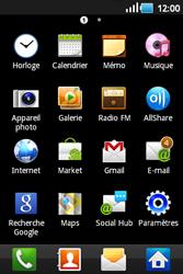Samsung S5660 Galaxy Gio - Messagerie vocale - Configuration manuelle - Étape 3