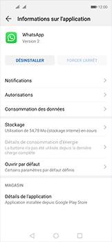 Huawei Nova 5T - Applications - Comment désinstaller une application - Étape 6