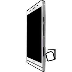 Huawei Ascend P6 LTE - SIM-Karte - Einlegen - 4 / 7