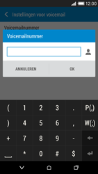 HTC Desire 816 - Voicemail - handmatig instellen - Stap 7