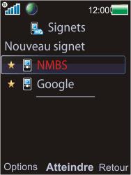 Sony W595 - Internet - Navigation sur Internet - Étape 13
