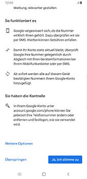 Samsung Galaxy S9 Plus - Apps - Konto anlegen und einrichten - 14 / 22