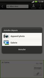 HTC Z520e One S - MMS - envoi d'images - Étape 9