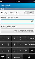 BlackBerry Z10 - SMS - Manual configuration - Step 8