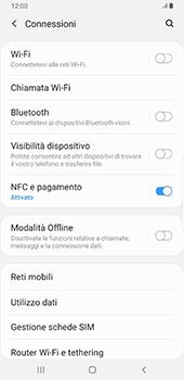 Samsung Galaxy Note9 - Android Pie - Rete - Selezione manuale della rete - Fase 5