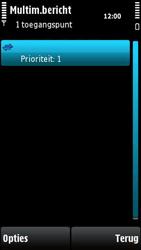 Nokia X6-00 - MMS - handmatig instellen - Stap 14