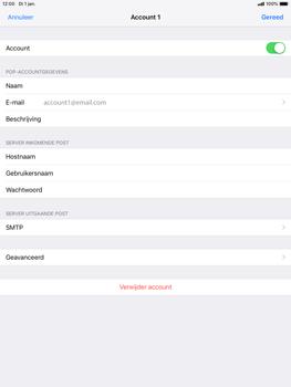 Apple ipad-mini-5-7-9-inch-2019-model-a2124 - E-mail - Handmatig instellen - Stap 25