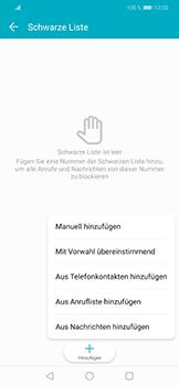 Huawei Honor Play - Anrufe - Anrufe blockieren - Schritt 8